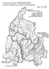 Karte Ortenau klein