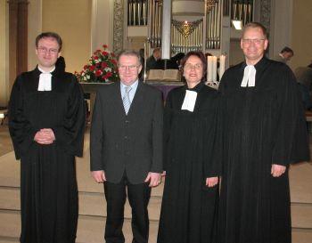 Einsegnung Matthias Bühler als Prädikant
