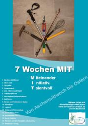 7 Wochen MIT Plakat