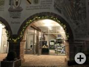 Schaufensterweihnacht Rathaus