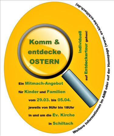 Ostern Plakat
